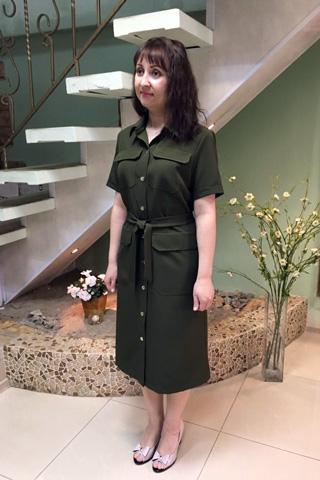 Платье - сафари