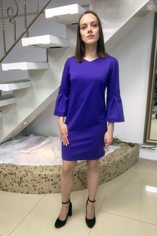 Комфортное платье из мягкого качественного трикотажа